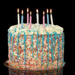 Naked cake verjaardag
