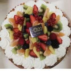 Fruittaart | 4 tot 10 personen