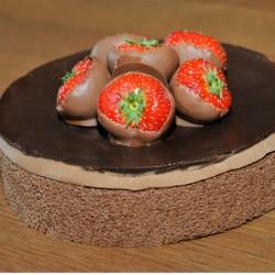 chocoladetaart met...